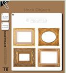 Object Pack - Gold Frames