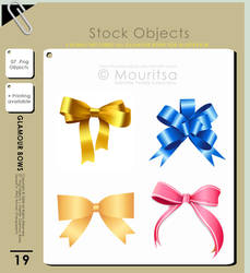 Object Pack - Glamour Bows