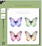Object Pack - Dreamy Butterflies