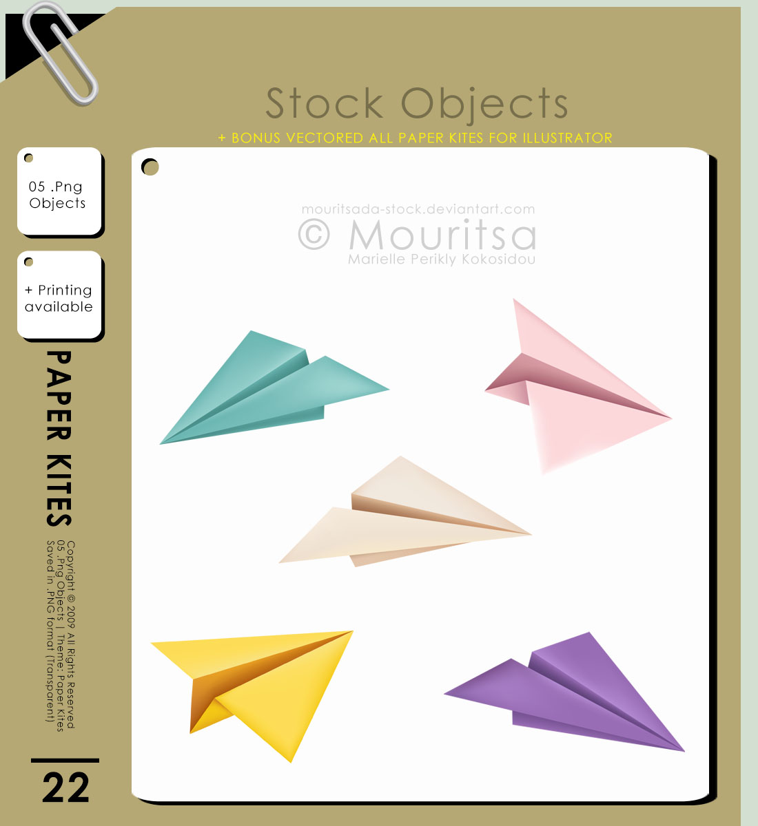 Object Pack - Paper Kites