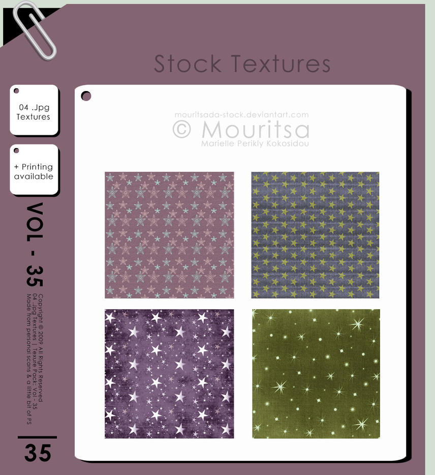 Texture Pack - Vol 35 by MouritsaDA-Stock