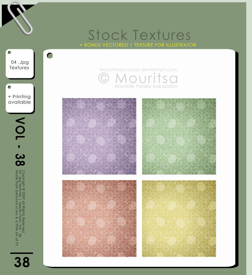 Texture Pack - Vol 38 by iMouritsa