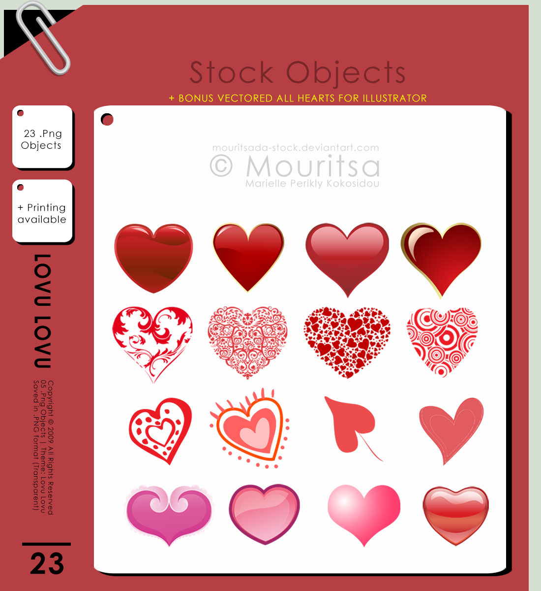 Object Pack - Lovu Lovu