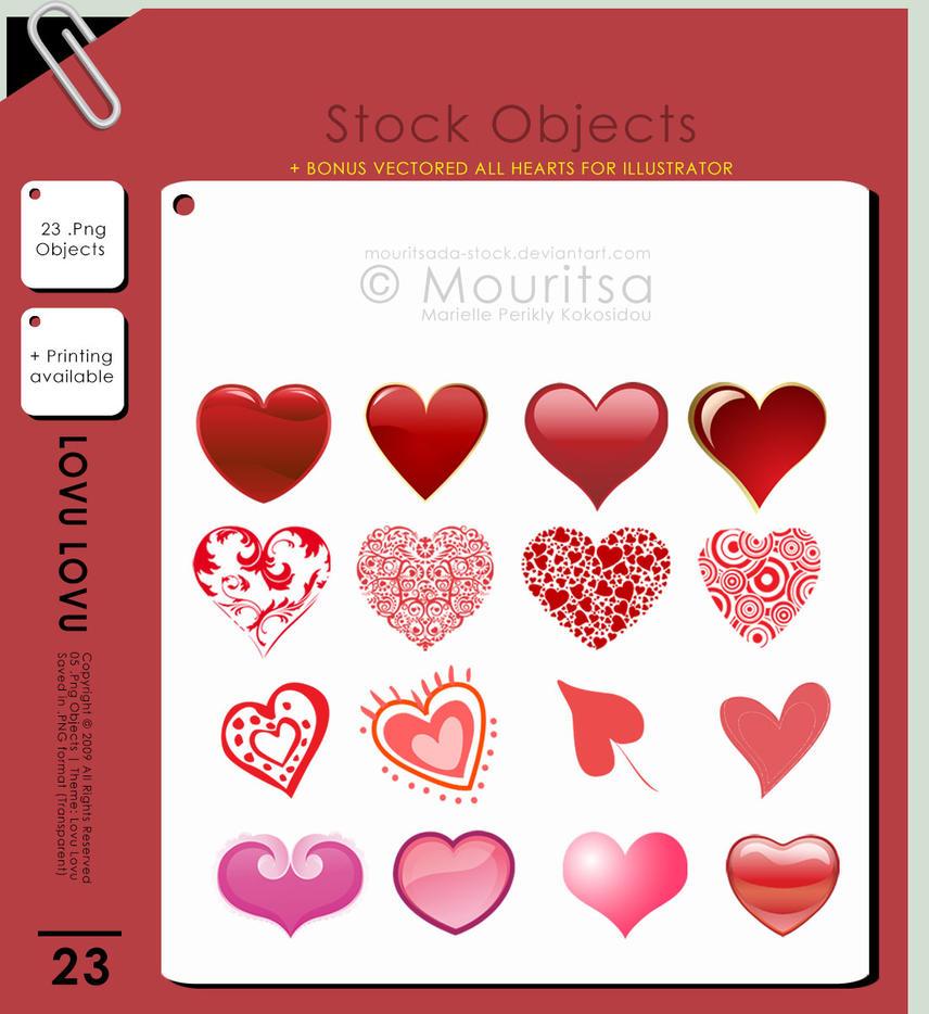 Object Pack - Lovu Lovu by iMouritsa