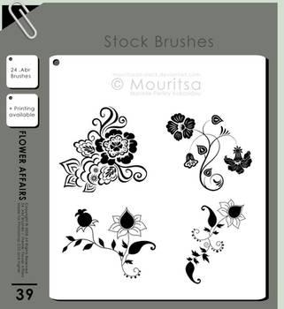 Brush Pack - Flower Affairs