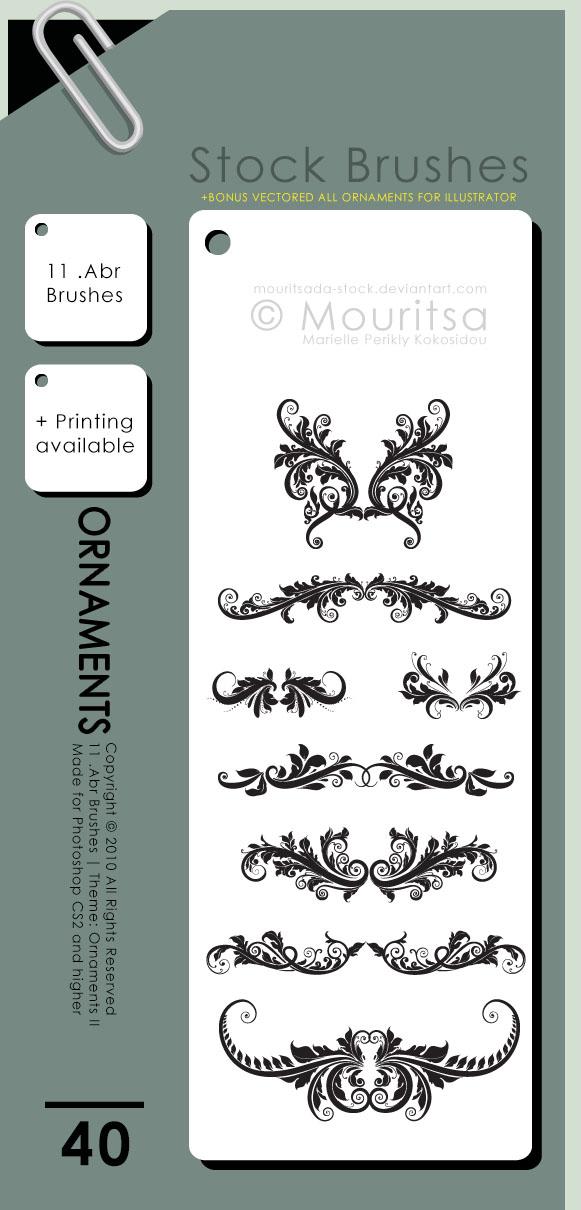 Brush Pack - Ornaments II by iMouritsa on DeviantArt