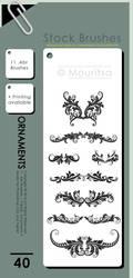Brush Pack - Ornaments II by iMouritsa