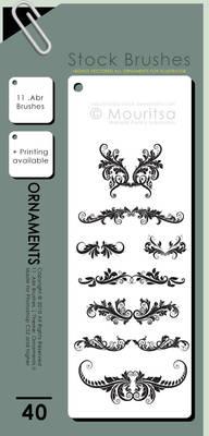 Brush Pack - Ornaments II