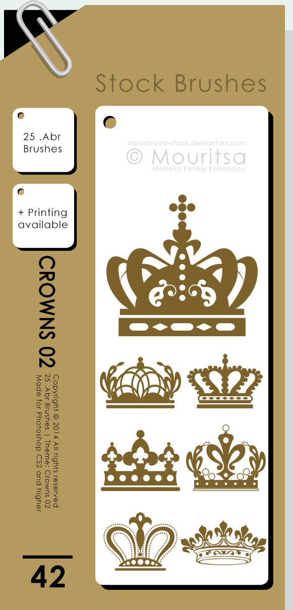 Brush Pack - Crowns 02 by iMouritsa