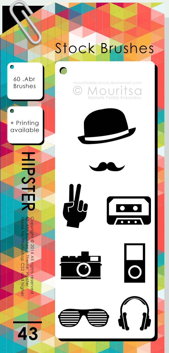 Brush Pack - Hipster by iMouritsa