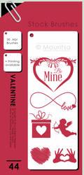 Brush Pack - Valentine by iMouritsa