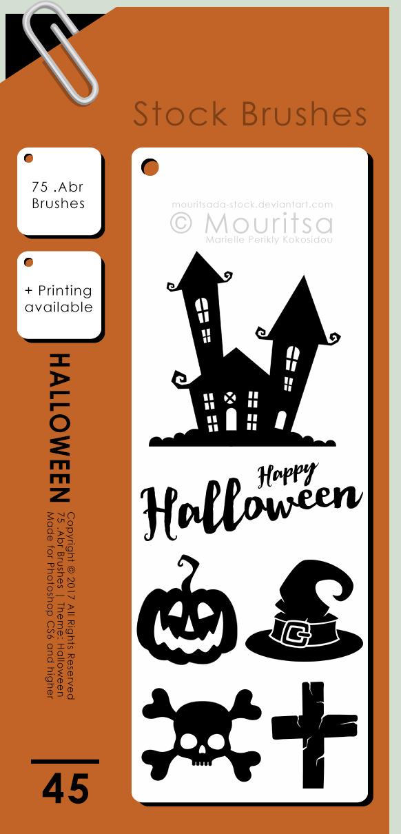 Brush Pack - Halloween by iMouritsa