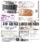 Grunge Labels Brushes