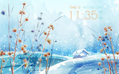 Natural - clock for CONKY
