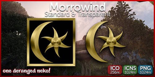 Icons - Morrowind (Standard and Transparent)