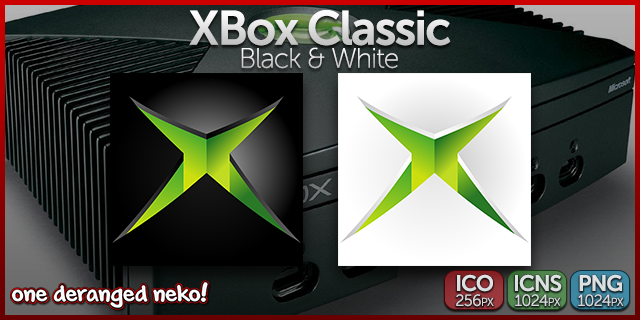 ODN Icons - Xbox Classic by KaizenNeko