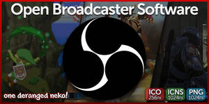 ODN Icon - Open Broadcaster Software by KaizenNeko