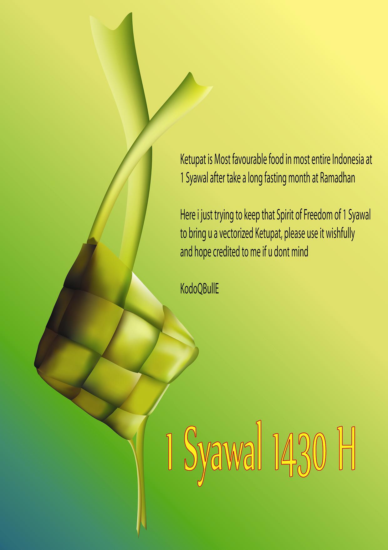 Ketupat Lebaran by KodoQBullE on DeviantArt