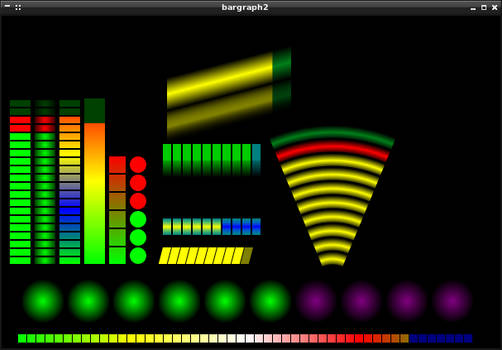 Bargraph Widget for Conky 2.1