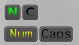 Caps-Num-Lock for Conky by wlourf
