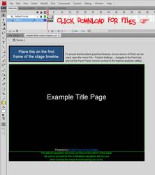 Simple Flash Comic Engine v1.1