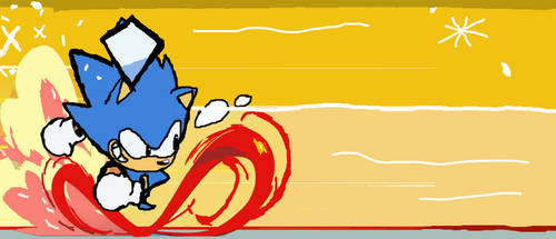 Sonic Mania: Classic Sonic Running