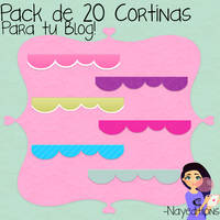 Pack 20 Cortinas Para Tu Blog!