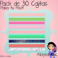 Pack Cajitas Post