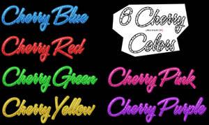 6 Cherry Colors Styles