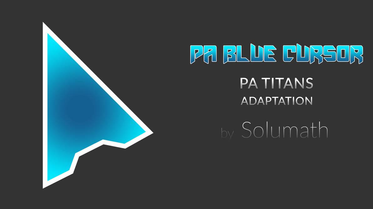 PA Blue Cursor - SkinPack - Customize Your Digital World