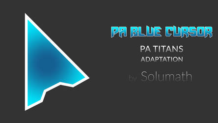 PA Blue Cursor by solumath