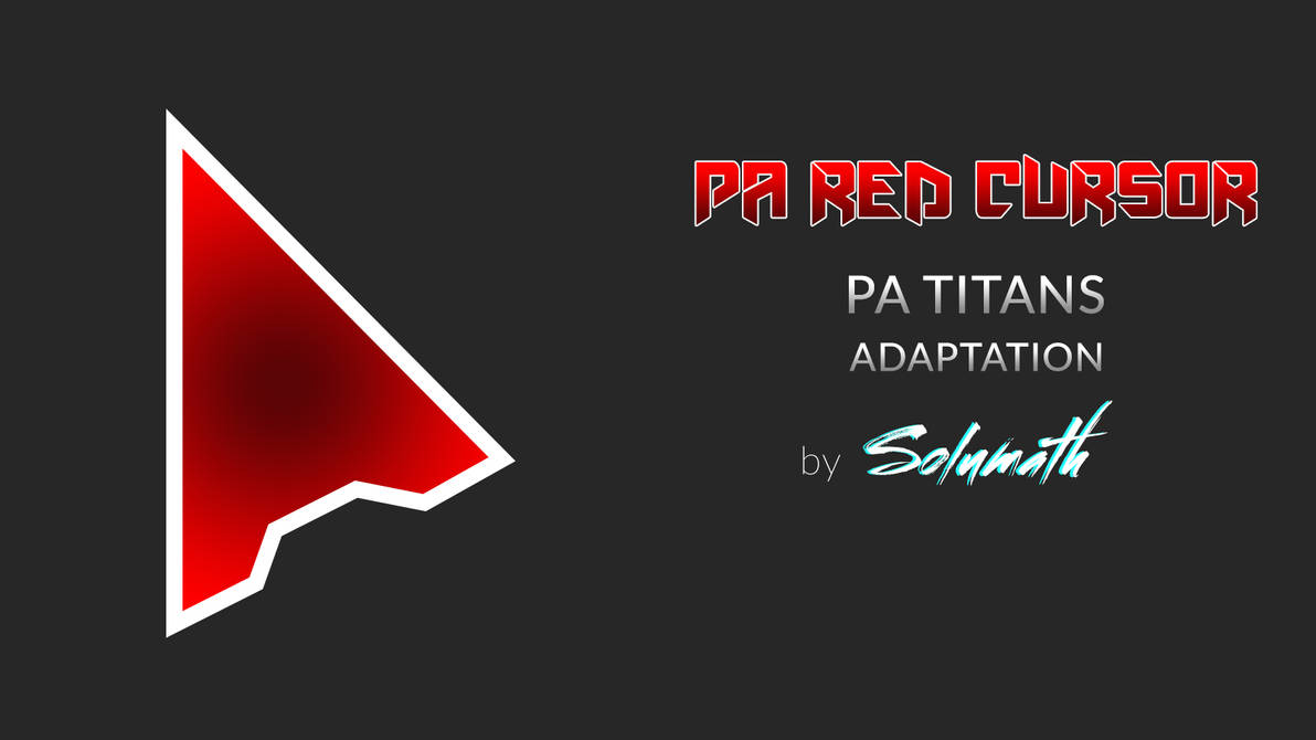 PA Red Cursor Full set