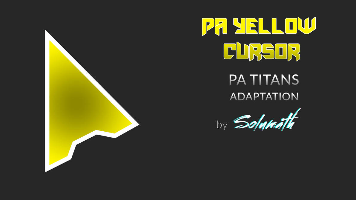 PA Yellow Cursor Full set