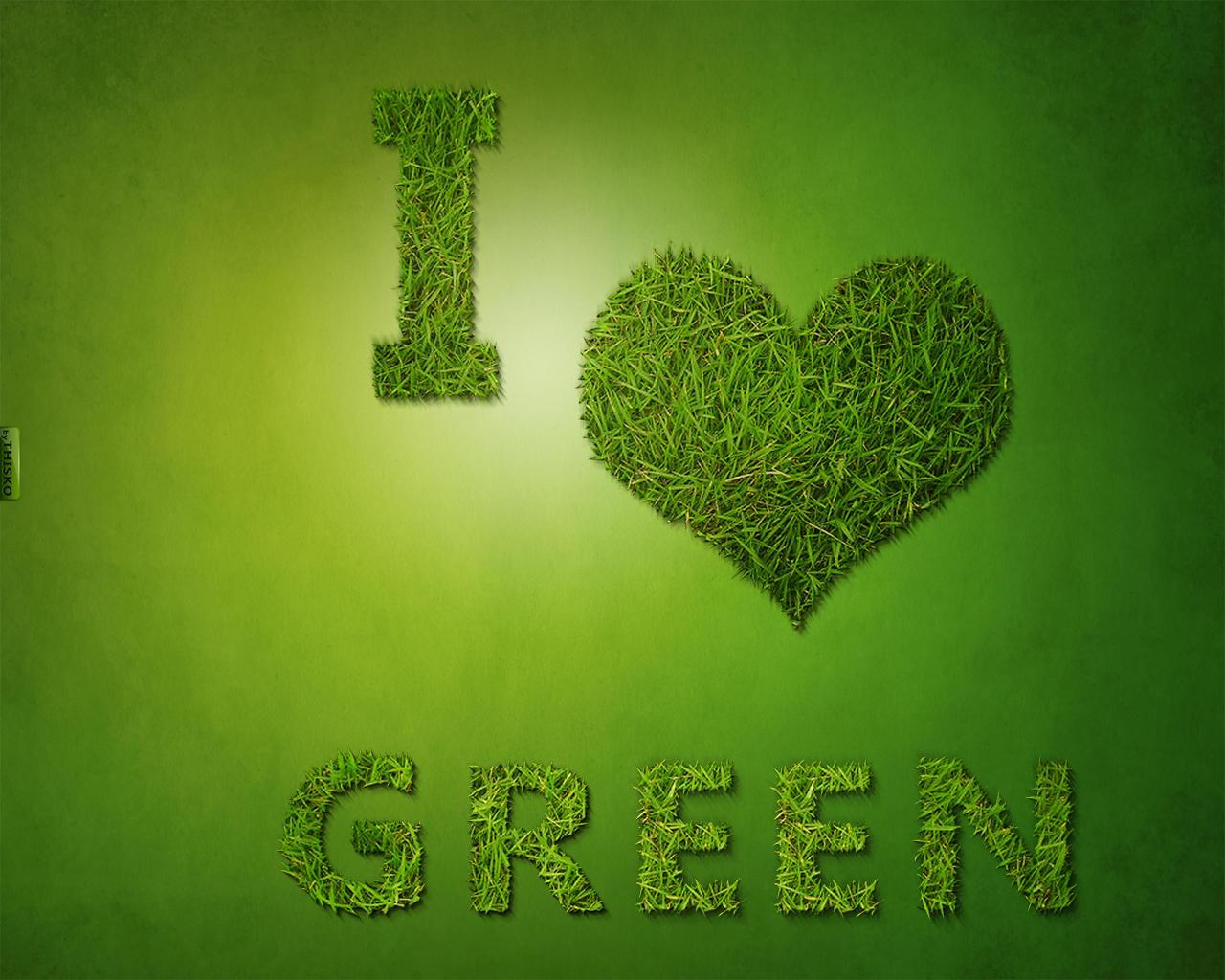 Good Wallpaper Love Green - i_love_green_wallaper_by_thisko-d3830e1  Trends_5275.jpg