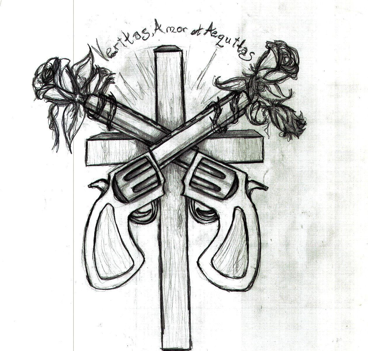Veritas amor et aequitas by keeleehamomin8788 on deviantart for Veritas aequitas tattoos