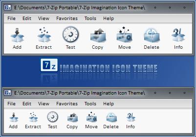 7-Zip Imagination Icon Theme by RudeBoySes