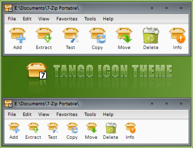 7-Zip Tango Icon Theme by RudeBoySes on DeviantArt