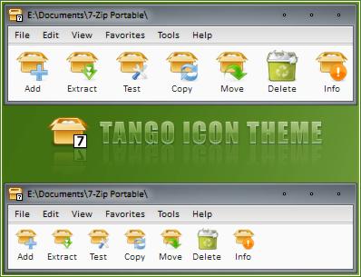7-Zip Tango Icon Theme by RudeBoySes