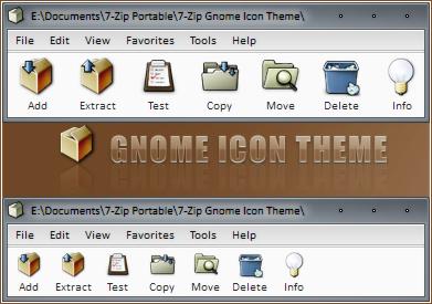 7-Zip Gnome Icon Theme by RudeBoySes