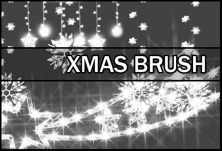 xmas brush by Faeth-design