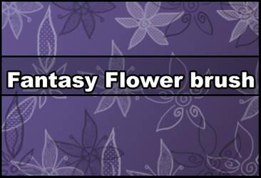 Fantasy Flower brush by Faeth-design