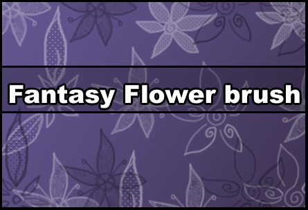 Fantasy Flower brush by Faeth-design