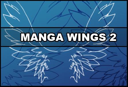 Manga wings 2 by Faeth-design