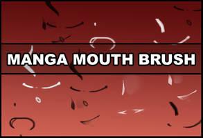 Manga mouth brush by Faeth-design