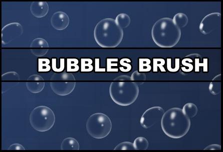 Bubbles brush