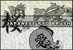 Japanese ryo brush