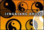 Jing and Jang brush