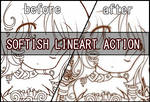 Softish lineart action