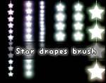Star Drapes brush