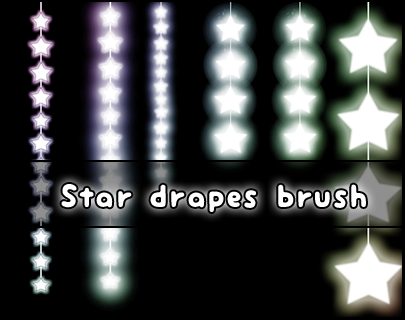 Star Drapes brush by Faeth-design